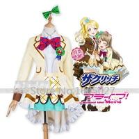 Anime Love Live! Minami Kotori Ayase Eli Action Figure Waffles Sweety Sister Dress Uniform Suit Cosplay Costume Any Size NEW