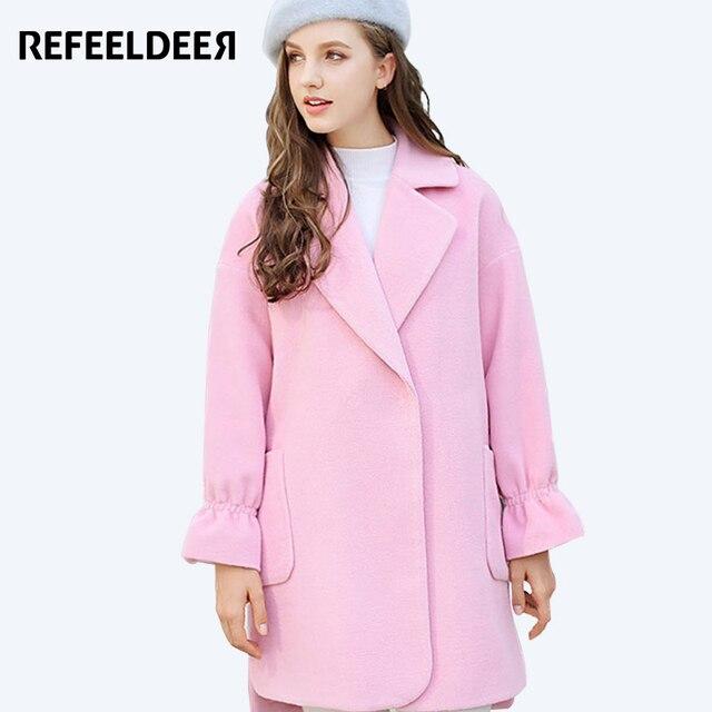 Aliexpress.com : Buy Refeeldeer Elegant Women Long Coats 2017 ...