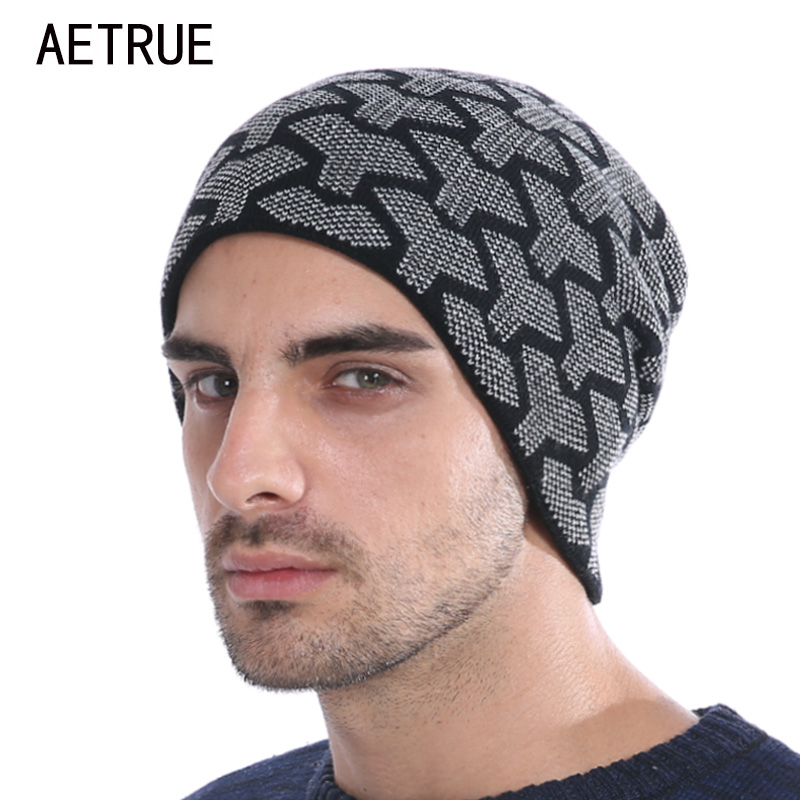 Men Winter Beanies Knitted Hat Women Winter Hats For Men Fashion Caps Warm Baggy Skullies Balaclava Bonnet Brand Mask Hat 2017 aetrue beanie knit winter hat skullies beanies men caps warm baggy mask new fashion brand winter hats for men women knitted hat