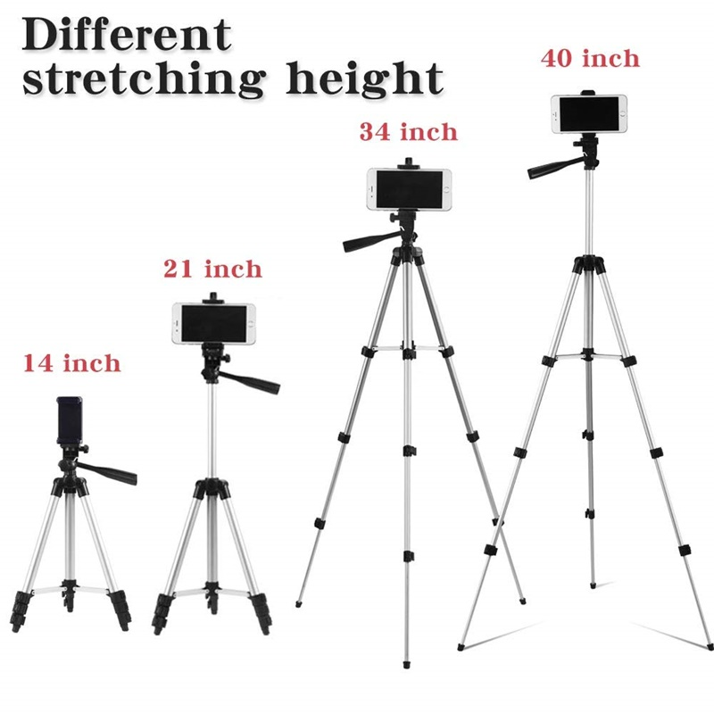 Lightweight Camera Tripod Phone Stand Holder Portable Desktop Mobile Phone Tripode For iPhone Canon Sony Nikon Video Camera Para 1