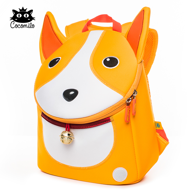 Cocomilo Waterproof 3D Dog Pattern Anti lost School Bag Dog Ears Little  Kids Kindergarten Backpack Zoo Animal Toddler Bag Boys-in School Bags from  Luggage ...