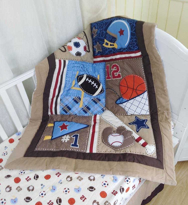 1 шт., Хлопковое одеяло для детской кроватки, 33*42, для мальчиков и девочек, Универсальное Детское одеяло с мультяшным принтом, детское одеяло, одеяла для кроватки, детские вещи для новорожденных - Цвет: comforter only6