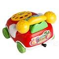 1 pc baby toys música dos desenhos animados telefone educacional developmental toy kids presente novo a18187