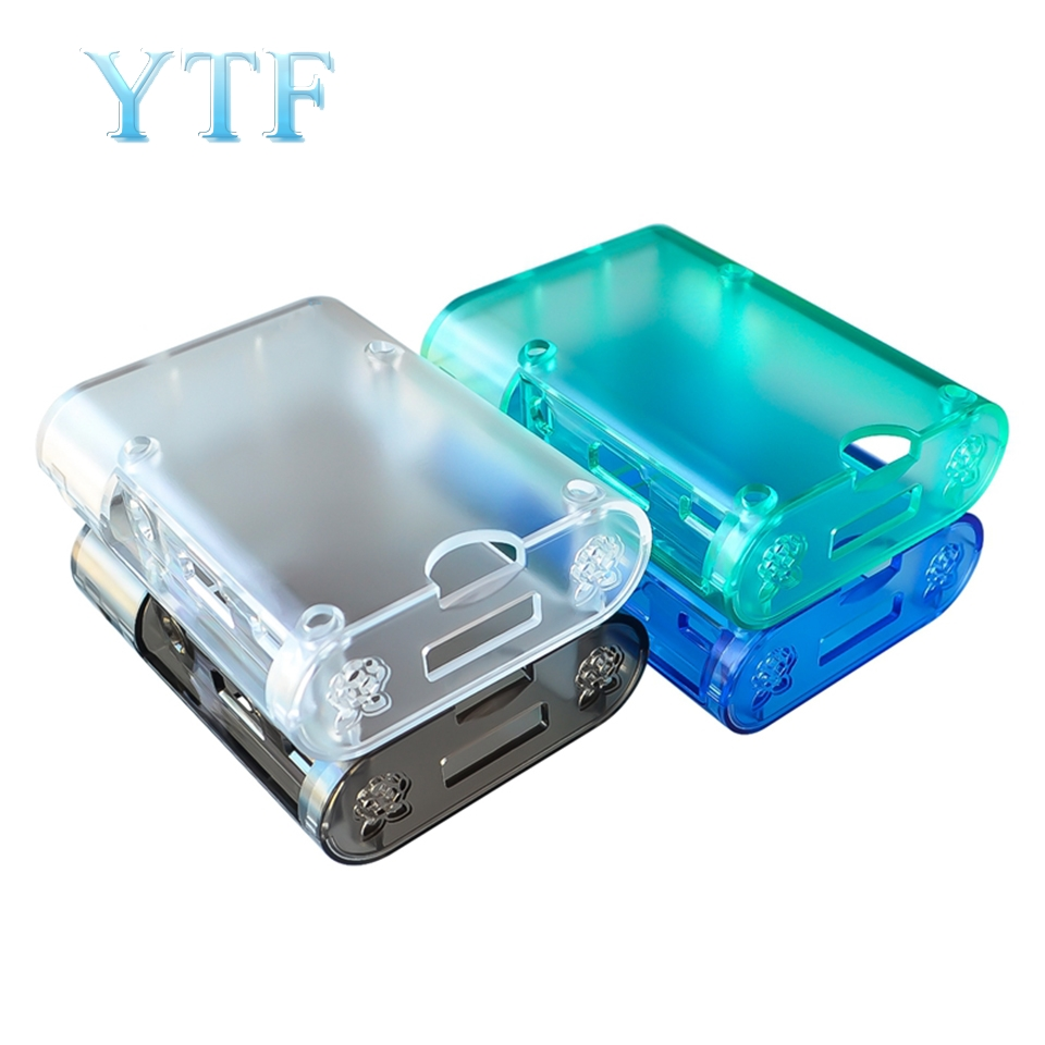 Raspberry Pi Case 3B 3B+ Plus  Injection Molding Universal Housing Downwards Compatible With Old Styles