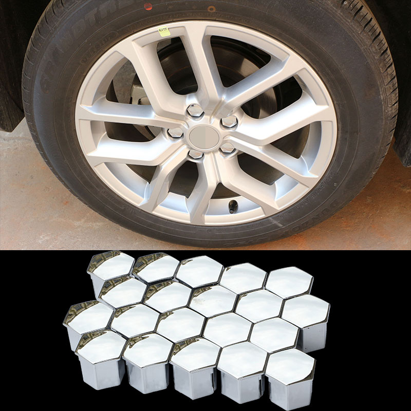 16Pcs Car Wheel Nut Bolt Plastic Covers Caps For Peugeot 307 308 407 408 2008 W-Shufang-nut