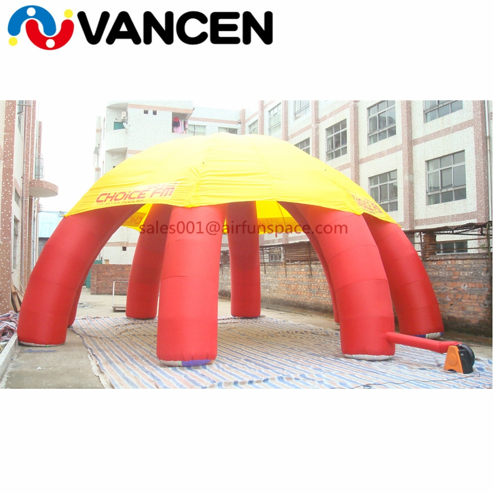 inflatable spider tent06