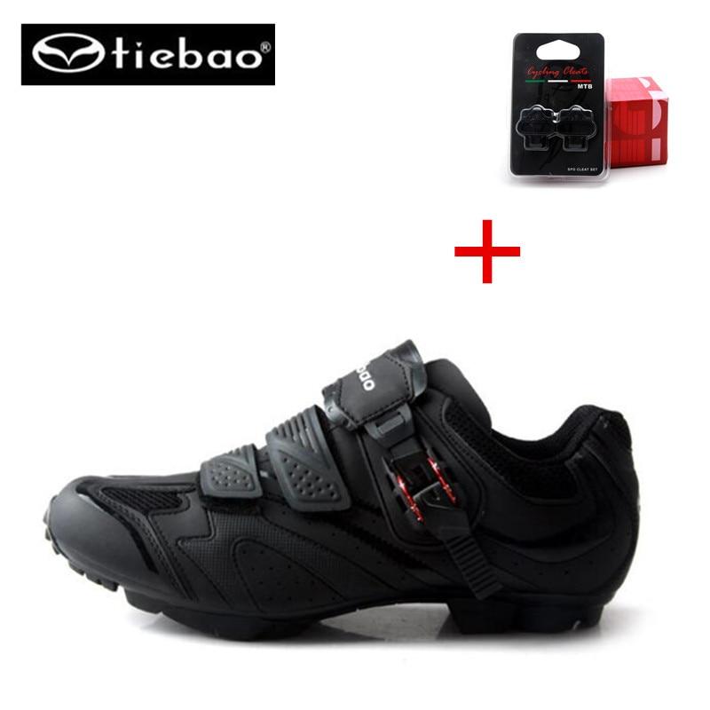 Tiebao zapatillas deportivas mujer sapatilha ciclismo cycling mountain bike shoes spd supersar sneakers men botas mtb invierno