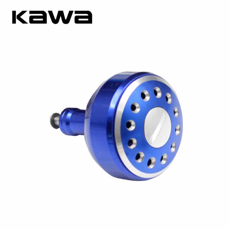 Kawa Fishing Handle Knob for Spinning Wheel Type, Machined Metal Fishing Reel Handle Knobs Bait Casting Spinning Reels Accessory