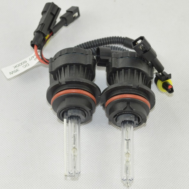 35W Xenon HID Bixenon 9004 9007 Hi Lo Kit Light Bulbs 4300K 5000K 6000K 8000K 10000K Headlight 12V DC