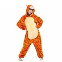 Onesie Unisex Adults Flannel Hoodie Costume Cosplay Animal Onesies Sleepwear Men Women Unicorn Pikachu Giraffe Stitch