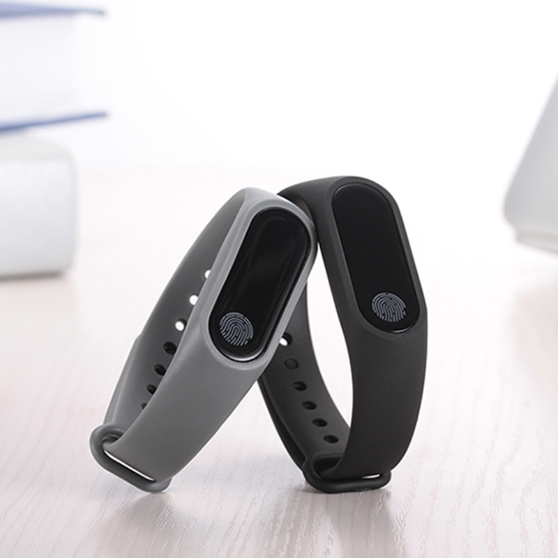 Fitness Tracker M2 smart band Heart Rate Monitor Smart Wristband Cardiaco Touchpad Smartband For Android IOS