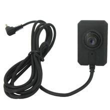 1/3 Polegada cor cmos com áudio mini câmera botão para ks750m