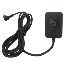 CMOS de Color de 1/3 pulgadas con botón miniatura para cámara de Audio para KS750M