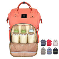 Land Baby Diaper Bag Backpack Big Capacity Baby Care Mother Backpack Organizer Waterproof Traveling Nappy Changing Bag