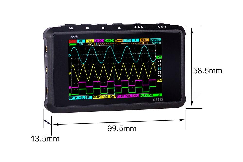 4 canais 15 mhz 100 ms s