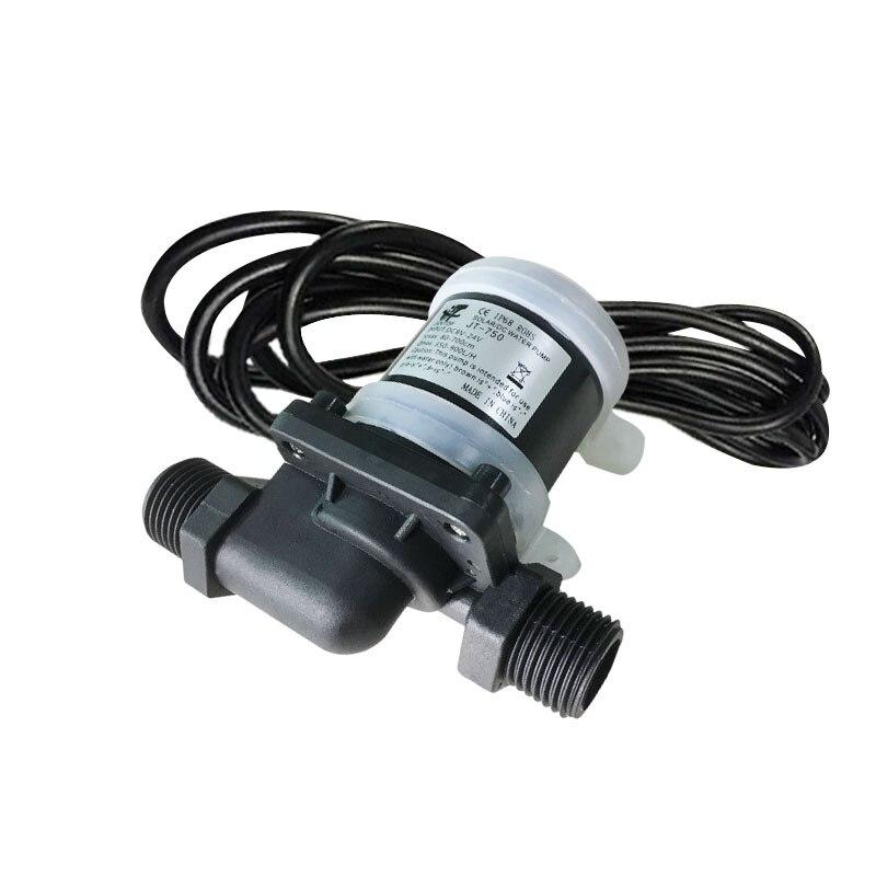 JT 750D Micro Submersible Water Pump DC 12V 24V Low Noise Solar Brushless Pump Max 7M 900L/HPumps   -