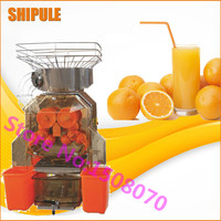 Горячие shipule 2000a 2 коммерческие автоматический электрический соковыжималка, промышленных Orange сок делая машину для продажи