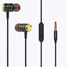 ACCALIA U8 In-Ear Sport Earphones with mic for All Smart phone Headset fone de ouvido auriculares MP3