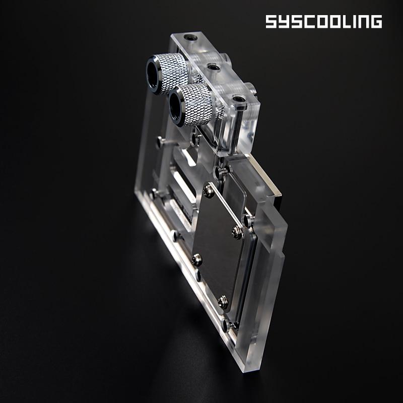 Jauns caurspīdīgs 960 VGA ūdens bloku augstspiediena ūdens dzesēšana