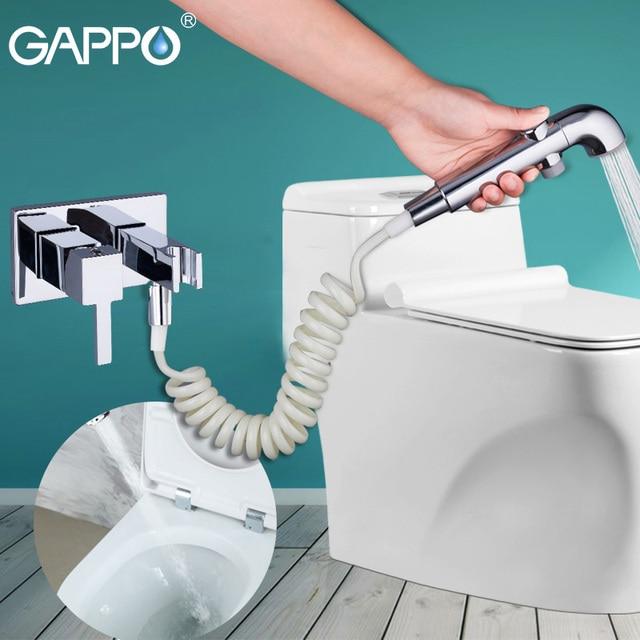 GAPPO Bidets handheld shower bidet toilet sprayer washer mixer tap muslim shower toilet bidet Spray Shattaf
