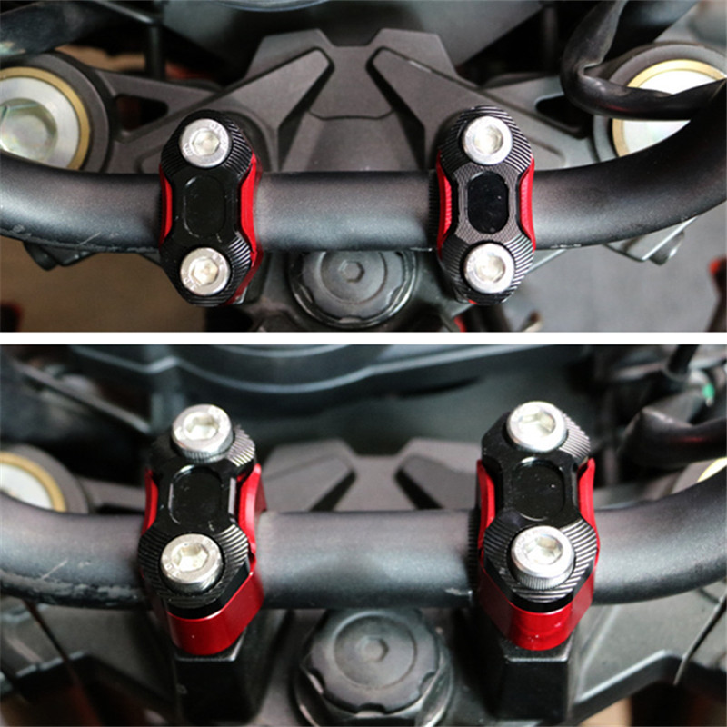 22MM Motorcycle Motocross Dirt Bike Free Shippingcaliber grip handlebar mirror holder compact code