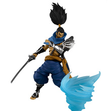 League of Legends Action figures Jax Yasuo Model anime figures collectible toys