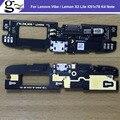 Top qualidade carregador usb plug sub board para lenovo vibe/lemon x3 lite k51c78 k4 note peças de telefone