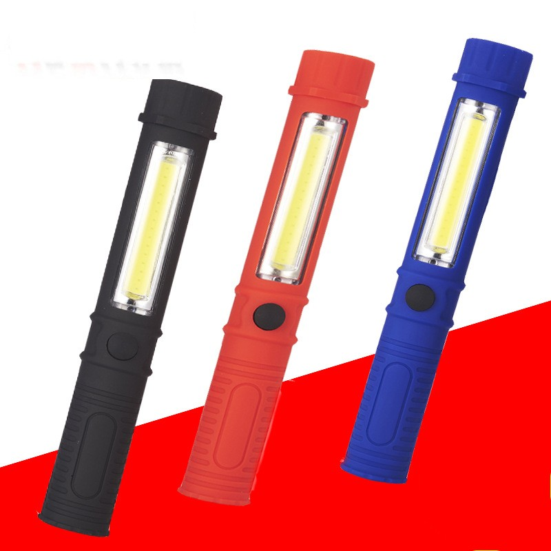 x2 35 LED Hand//Work Lamp// Torch Magnetic Alimunum Metal White//Red