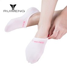 RaptCr6 Pairs/lot 2017 New Summer Fashion Women Boat Socks Hand Made Sewing Non-slip Silicone Invisible Shallow Mouth Ship Socks