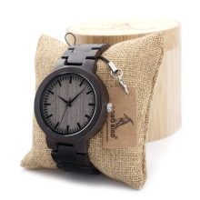 Bobobird QM001 New Arrival Maple Wood Watches Mens Watches Top Brand Luxury Quartz Watches With Gift