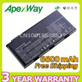 Apexway 9 cells Laptop Battery for MSI BTY-M6D E6603 GT60 GT660 GT660R GT663 GT670 GT680 GT680DX GT680R GT683 GT70 GT760 GT780