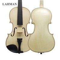 Brazil Wood Violin 4/4 3/4 1/2 1/4 1/8 Log Color Acoustic for Beginner Students Bow Rosin Shoulder Rest Mute Strings