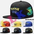 New Cosplay Mobile Game Pokemon Go Team Valor Team Mystic Team Instinct Snapback Baseball Cap Pokemon Ash Ketchum Hip Hop Hat