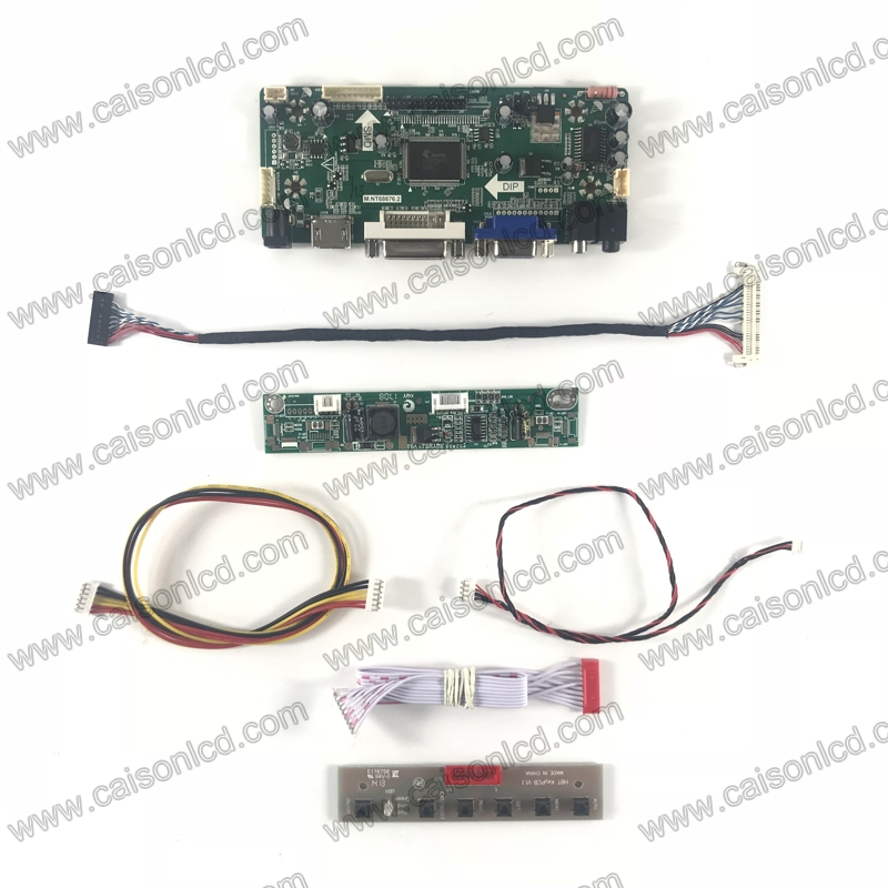 NT68676 LCD controller board support HDMI DVI VGA AUDIO for LCD panel 18.5 inch 1366X768 with led driver board LCD panel repair m nt68676 lcd led controller driver board for b116xw01 v 0 hdmi vga dvi audio 1366 768 pc