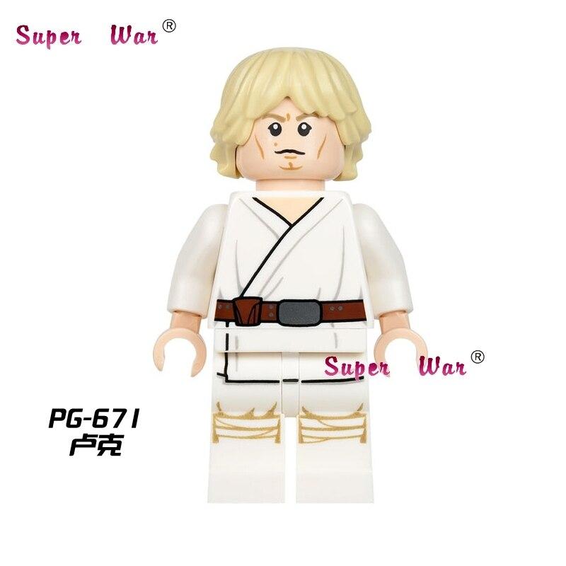 50pcs Luke skywalker Knight building blocks action bricks friends for girl house games kids children toys