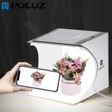 PULUZ Mini Photo Studio 20cm Foldable Light Photo Tent White Portable Lighting Studio Shooting Box 6 Colors Backdrops Photo Box