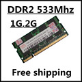 Venta pc2-4200 ddr2 533 1 gb 2 gb 4 gb sodimm laptop, ram ddr2 533 2 gb pc2-4200S notebook so-dimm, de memoria ram ddr2 2g 533 mhz sdram