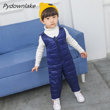 Autumn Winter Boy Girl Rompers Newborn Jumpsuit Casual Thin Baby Pants Layette Clothes Kids Overalls