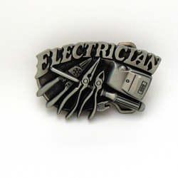 ELECTRICLAN пряжкой в стиле вестерн инструмент пряжка на ремешке цинковый сплав износостойкие модные к поток пряжка на ремешке для 4,0 пояса