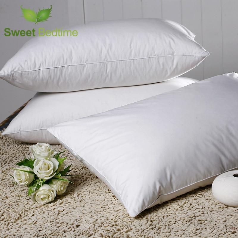 pëlhurë pambuku 50 * 70 pendë e bardhë patë jastëk të - Tekstil për shtëpi - Foto 1