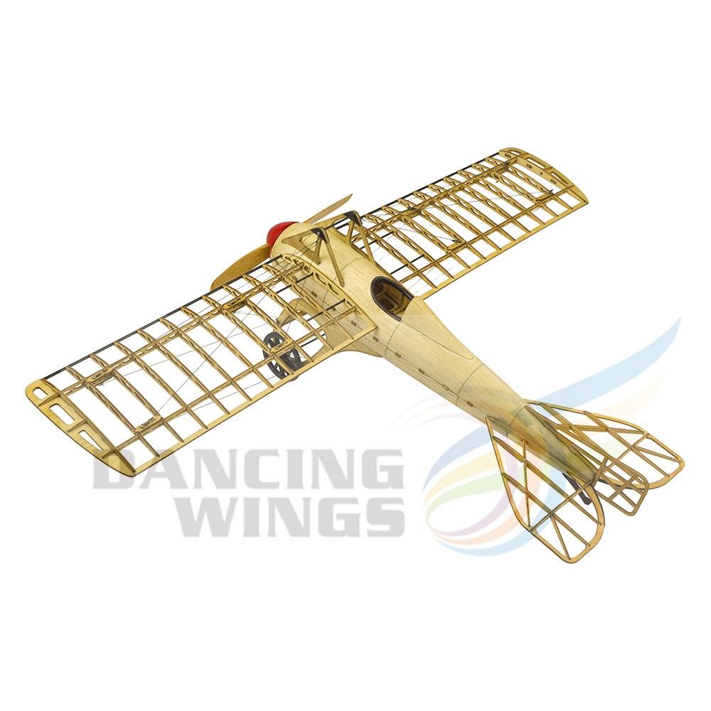 5% Pre Gebouwd Kit OnlyVintage Vliegtuig Model Deperdussin Monocoque Plane 1:13 Schaal Modelvliegtuigen Building Kit Vergadering Toy - 4