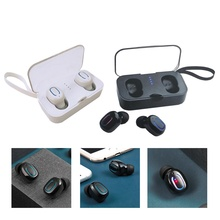 T18S Mini Invisible Wireless Earbuds TWS Bluetooth 5.0 Headset with Charging Dock Wireless Stereo Earhones for iOS Android Phone цены