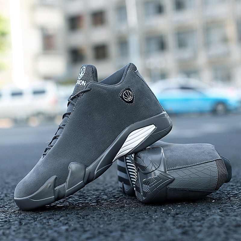 Sapatos meninos para Jogar Basquete Homem Tênis de Basquete Anti-Slip Sole Slip-resistente Jogo de Basquete Sapatos de Desporto para homens