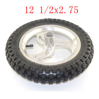 Super 12 1/2 x 2.75 Front and Rear wheel assembly 12 1/2*2.75 tire for Razor Dirt Bike Rocket MX350 MX400 Mini Dirtbike