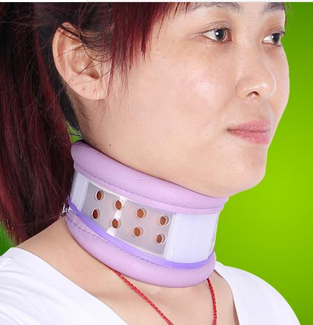 Breathable fixed neck collar cervical traction apparatus confining Cervical spondylosis household neck curvature correction medical polymer envelope neck collar cervical spondylosis cervical holder torticollis cervical traction s m l