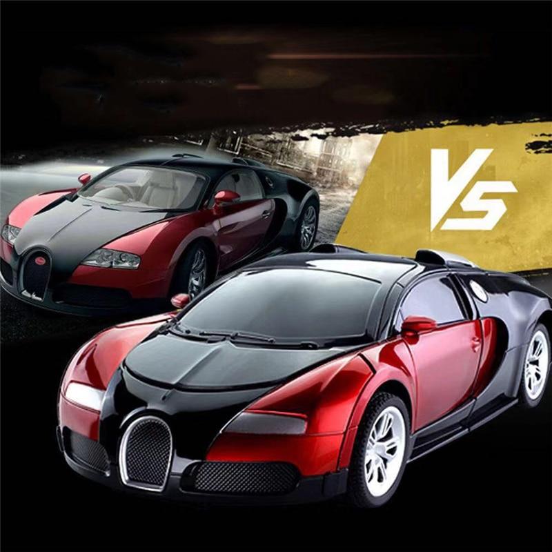 Lamborghini Bugatti: 1:14 Newly Gesture Sensing Transform Car Men Remote