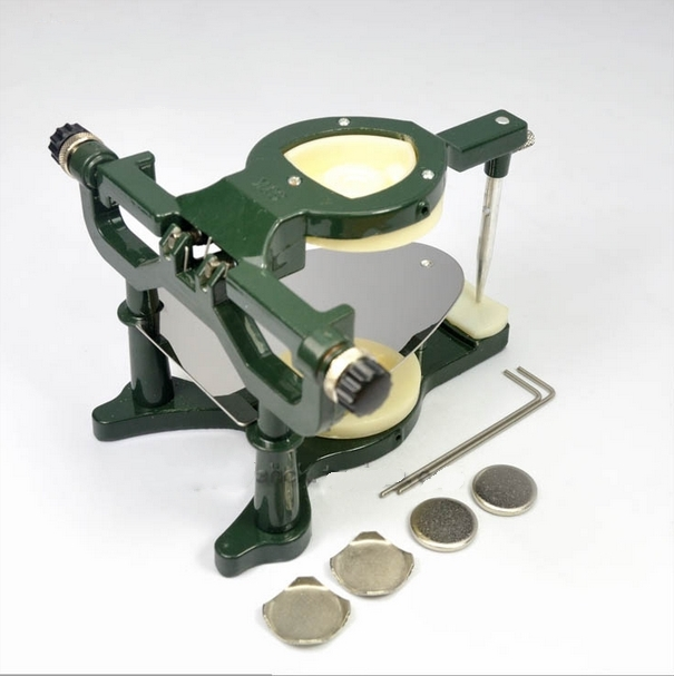 цены 1PC Dental Large Size Anatomic magnetic articulator Dental Lab Equipment Tools for dental lab die model work