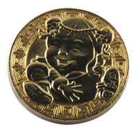 Fabbrica cinese antico che placca in oro della moneta di trasporto del campione a buon mercato su ordine all'ingrosso monete di metallo
