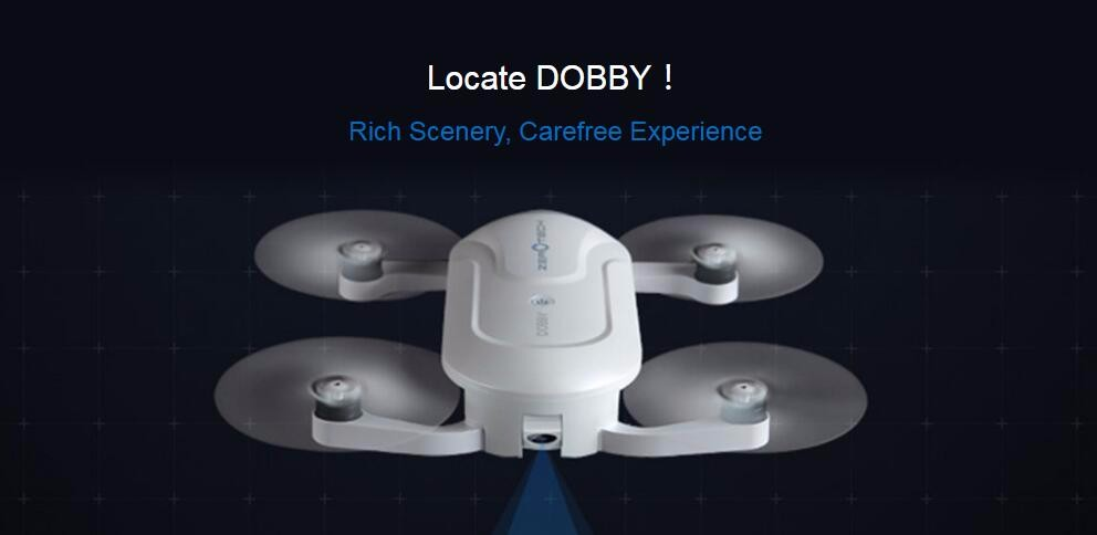Mini ZEROTECH Dobby Pocketable Selfie Pocket Drone FPV With 4K HD Camera GPS Smart Solution RC Quadcopter APP Control F19092-A