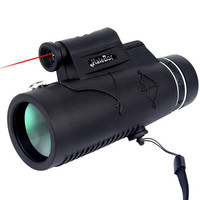 Monocular 12X50 Telescope High Power BAK4 Prism Prismaticos For Phone Hunting Tools Laser Light Night Vision